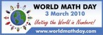 world math day logo 2010
